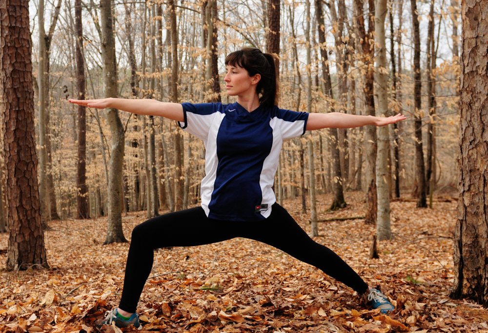 live seasoned woods warrior yoga poses-6