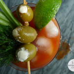 Rosemary Vodka & Herb Bloody Marys