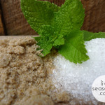 Mint, Salt & Sand Body Scrub