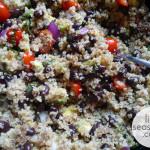 Quinoa Salad : Variation 1 (vegan & gluten free)