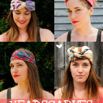 Headscarves: Four Ways!
