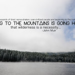 Going to the Mountains..