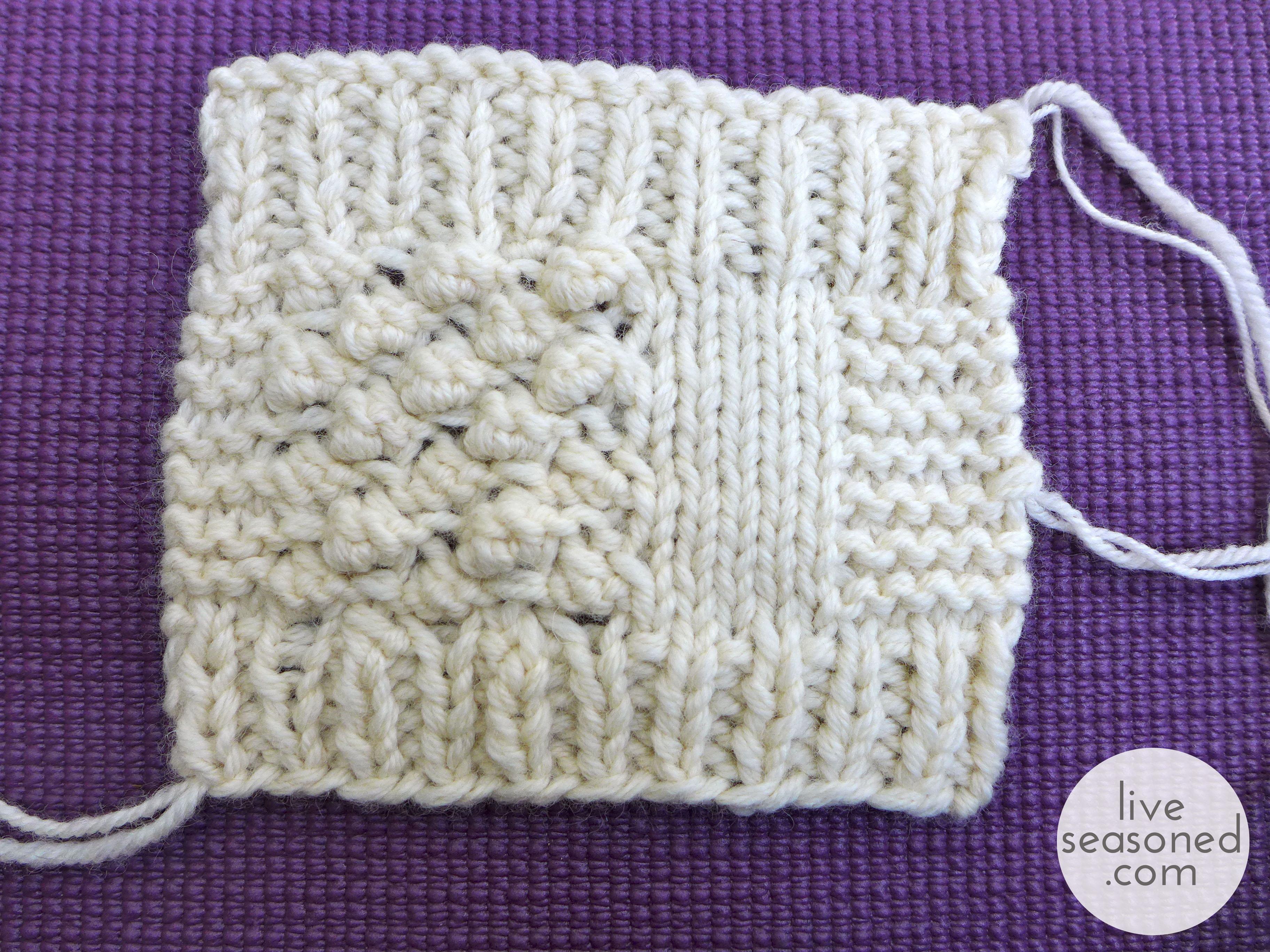 Knit Stitch Vs Stockinette : Project Sweater : Update 1