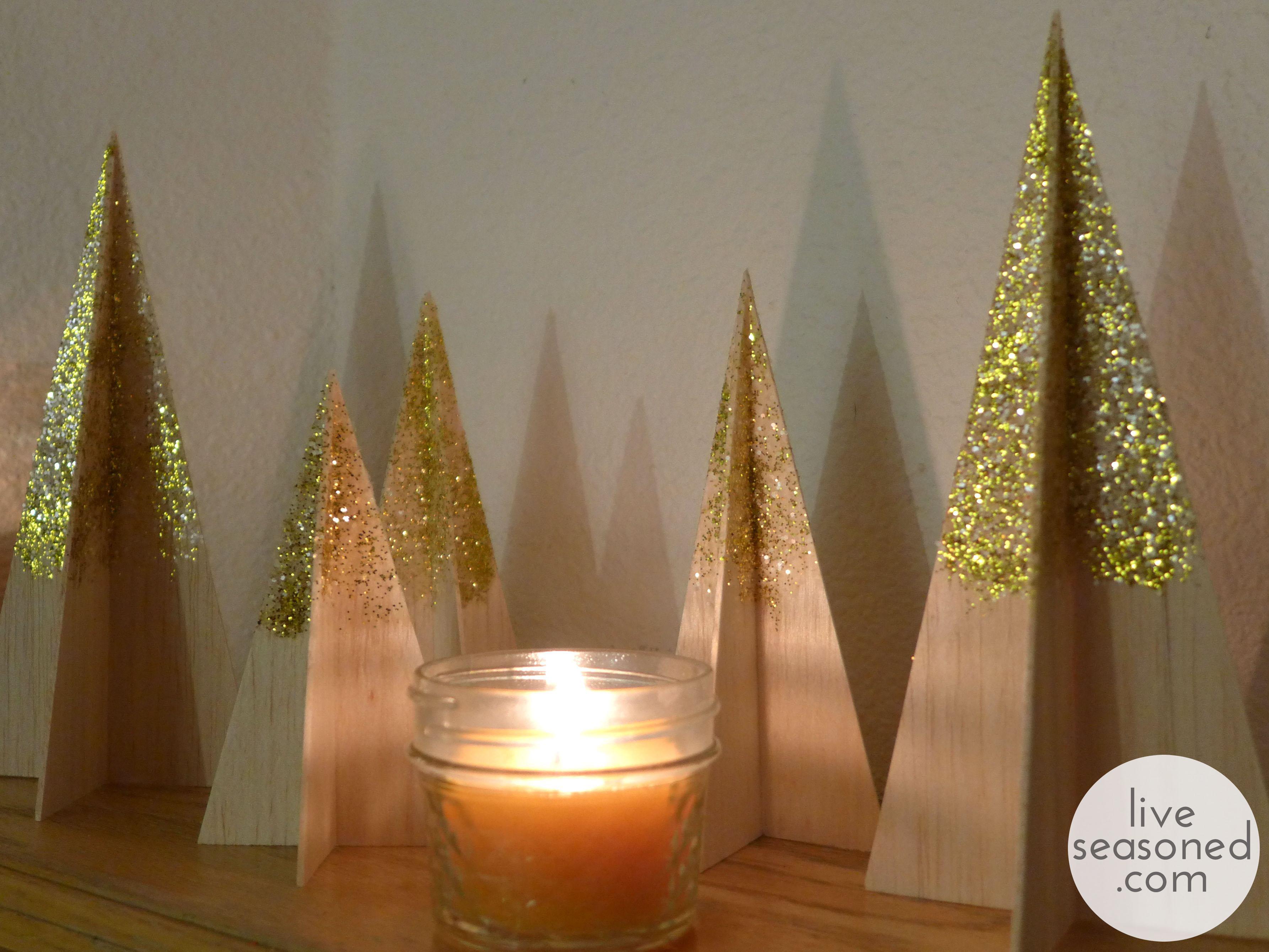 Balsa Christmas Trees