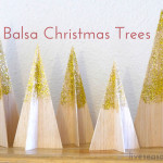 Balsa Christmas Trees
