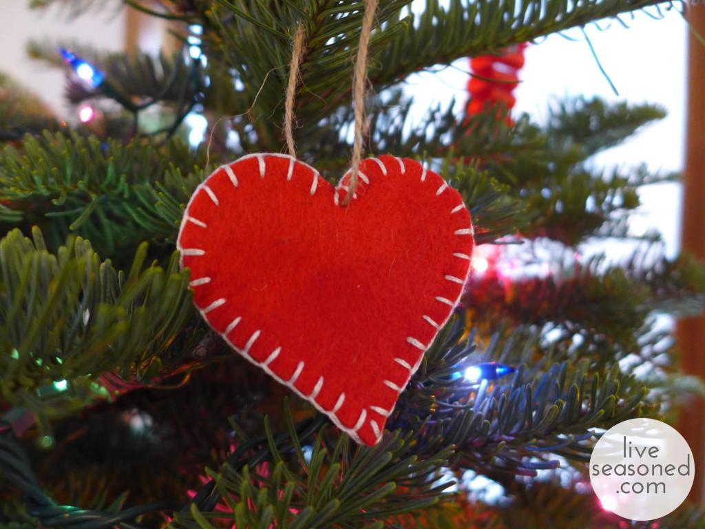743 tags christmas decorations festival holiday christmas tree views - Liveseasoned_w2015_feltornament2_wm