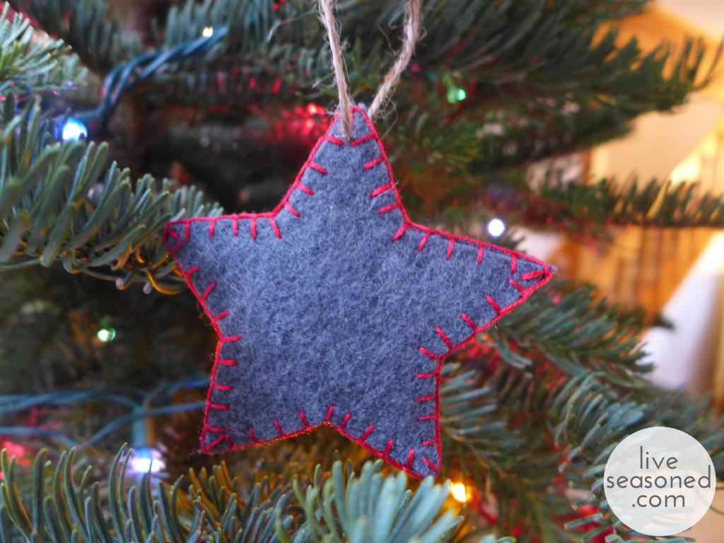743 tags christmas decorations festival holiday christmas tree views - Liveseasoned_w2015_feltornament3_wm
