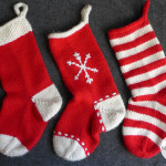Weekend Project : Knit a Stocking (or three!)