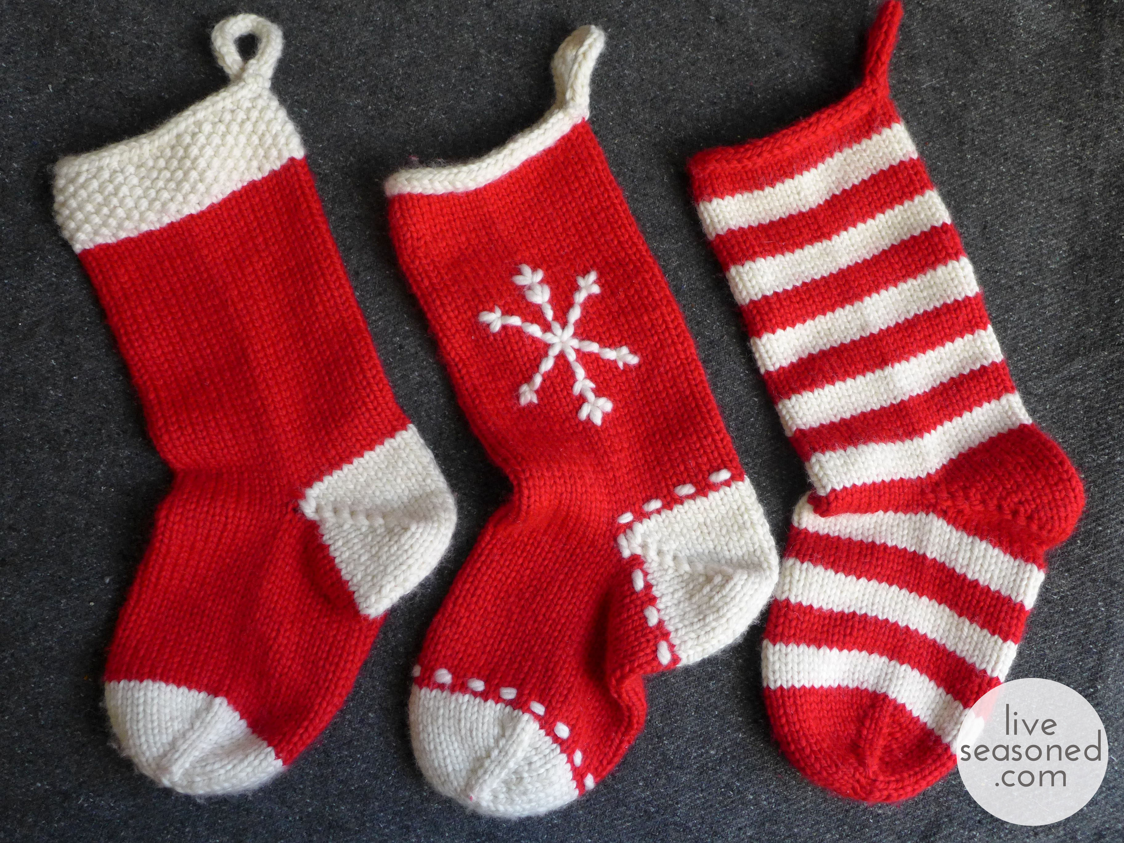 Weekend Project : Knit a Stocking (or three!) -