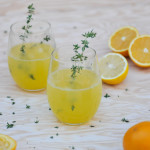 Citrus Champagne Spritzers