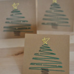 Embroidered Christmas Cards