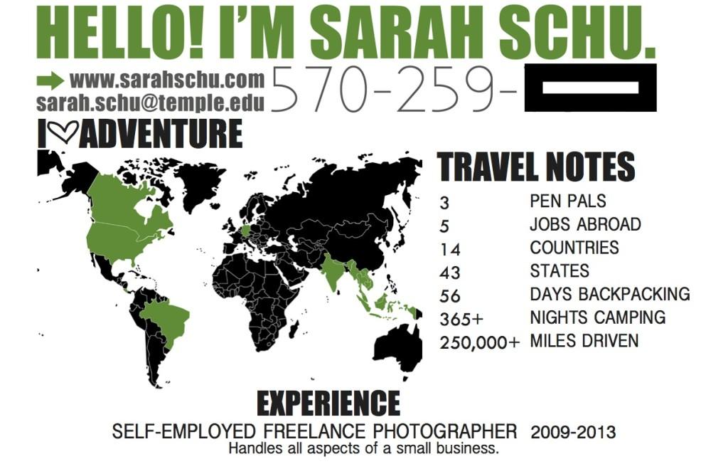 Sarah Schu Resume