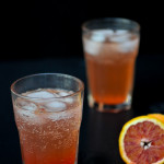 Homemade Blood Orange Shrub