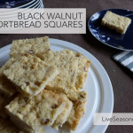 Black Walnut Shortbread Cookies