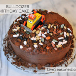 Bulldozer Birthday Cake!