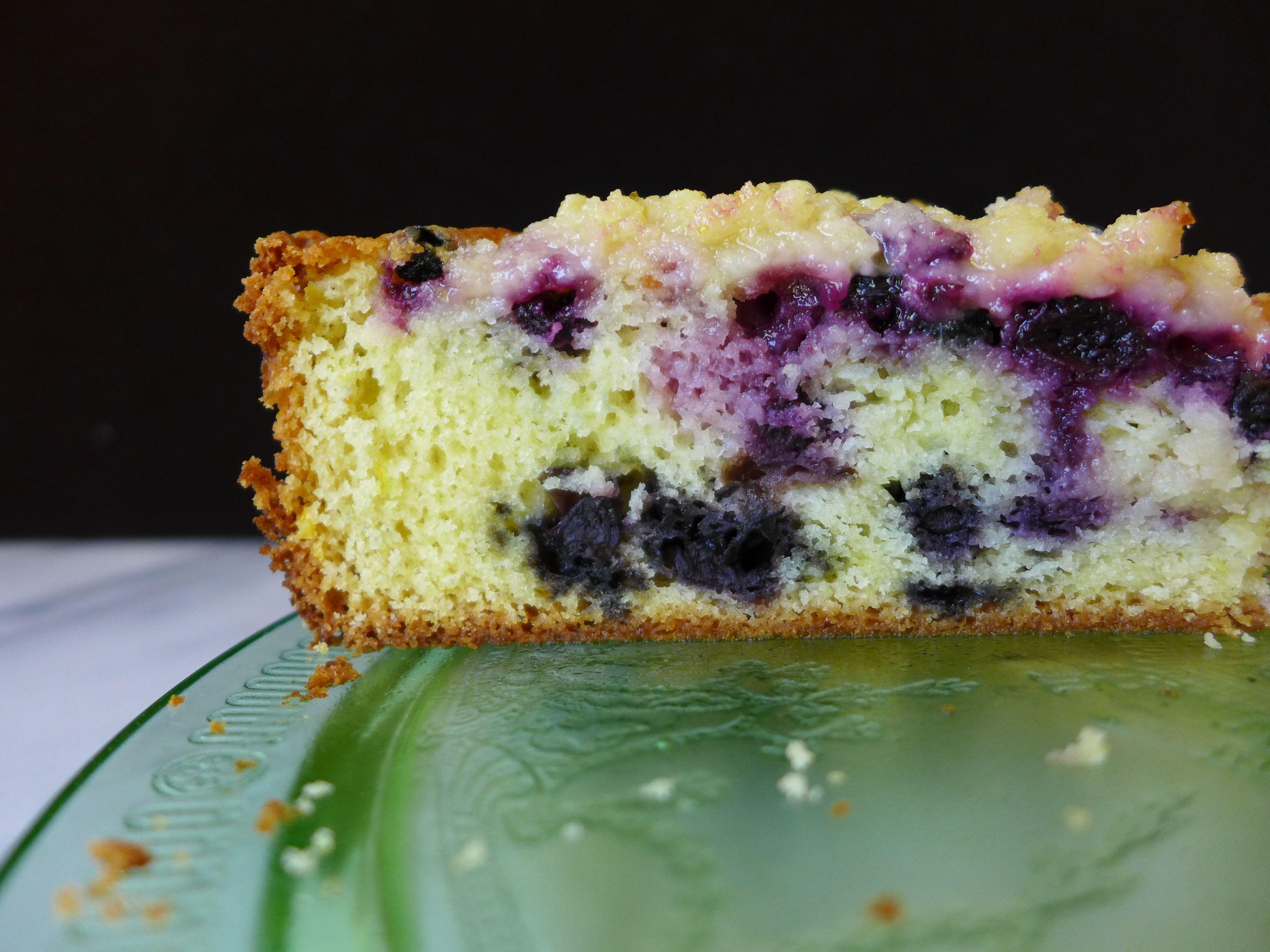 Blueberry Lemon Buckle