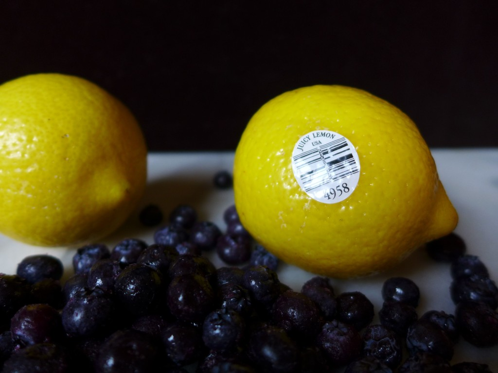 Blueberry Lemon Buckle -