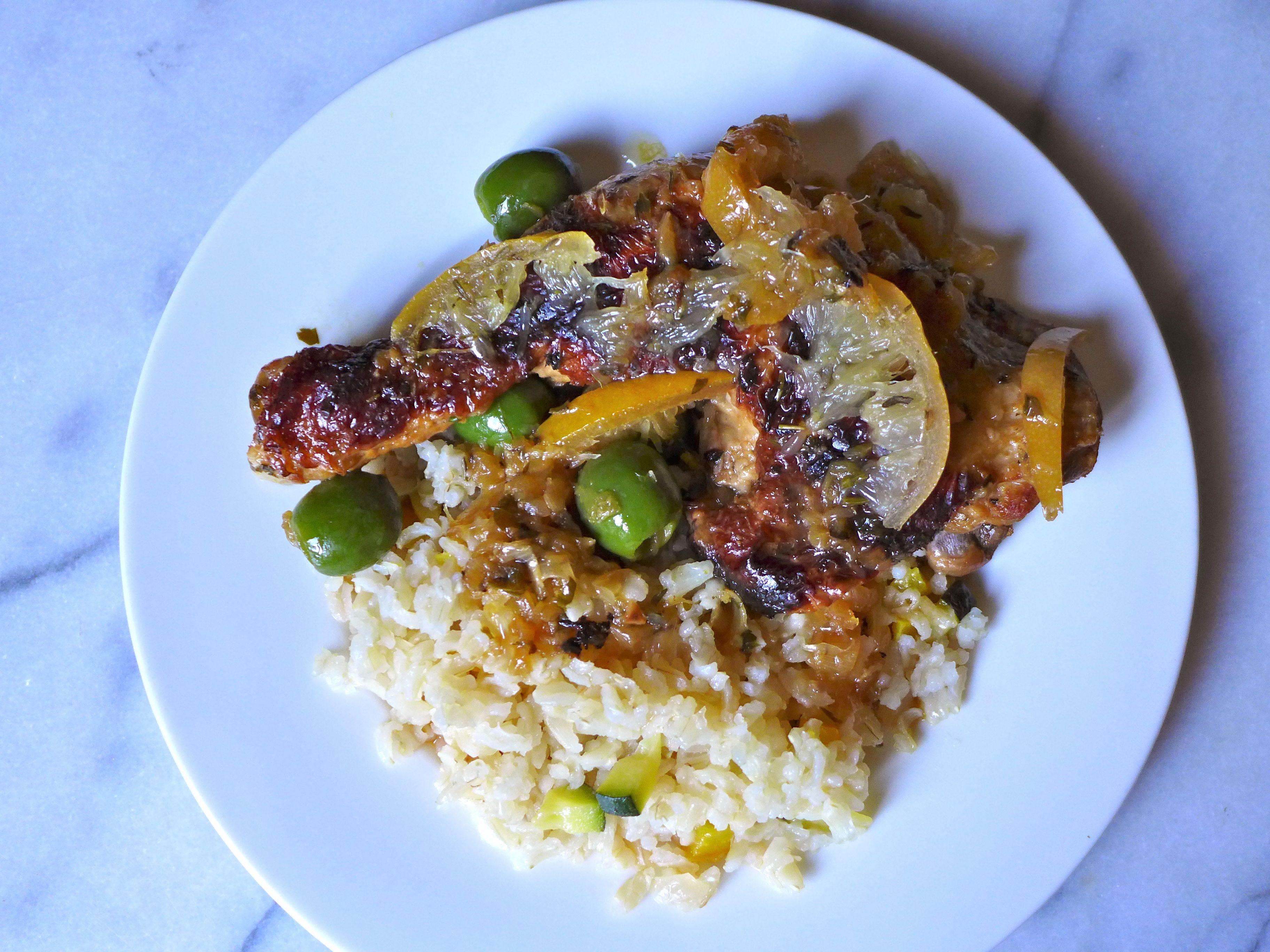 Chicken with Preserved Lemons