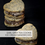 Earl Grey Tea Cookie Ice Cream Sandwiches