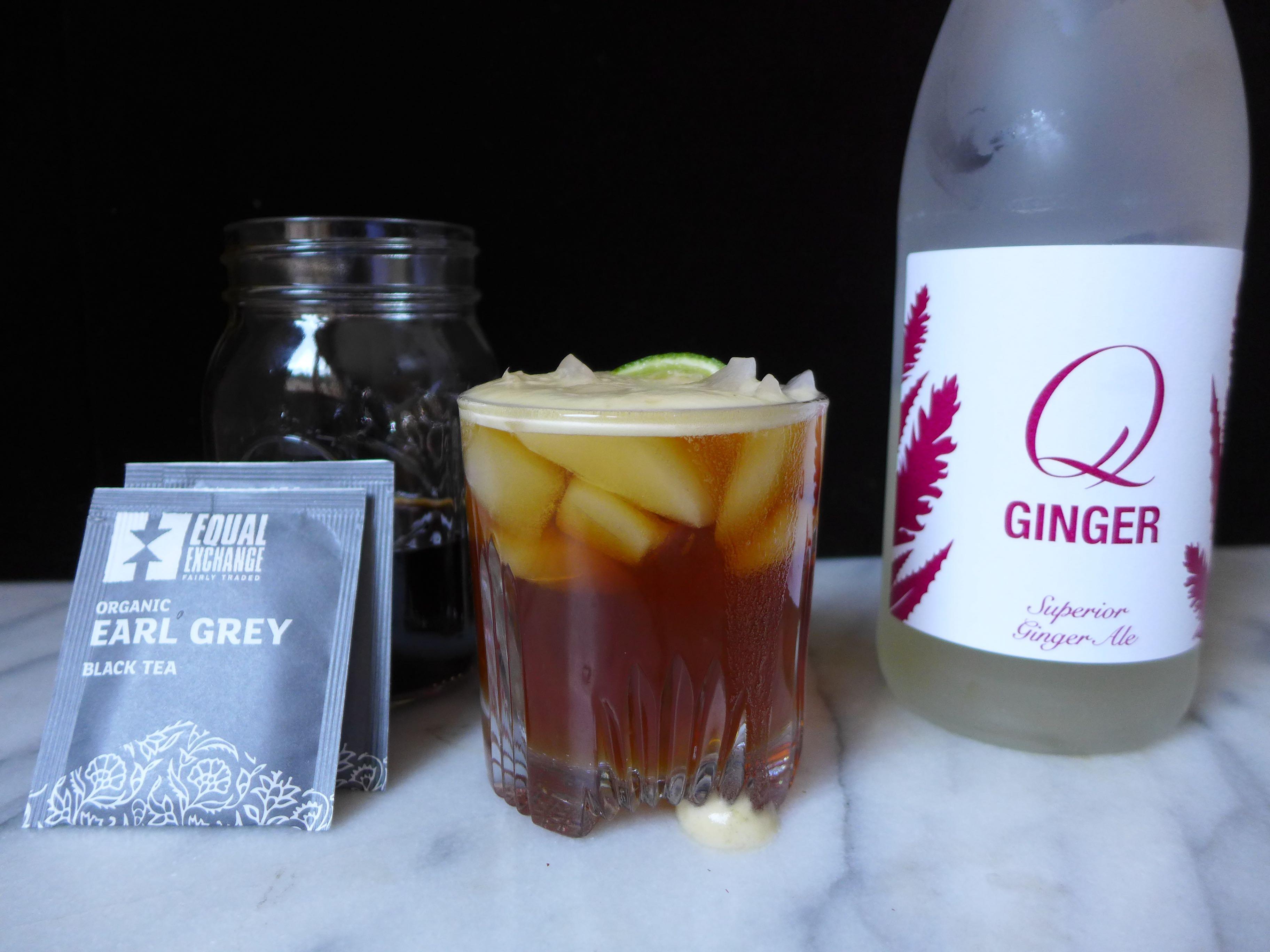 Black tea vodka cocktail for Tea infused vodka cocktails