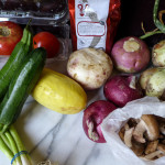 A Farm Share & Summer Meal Planning
