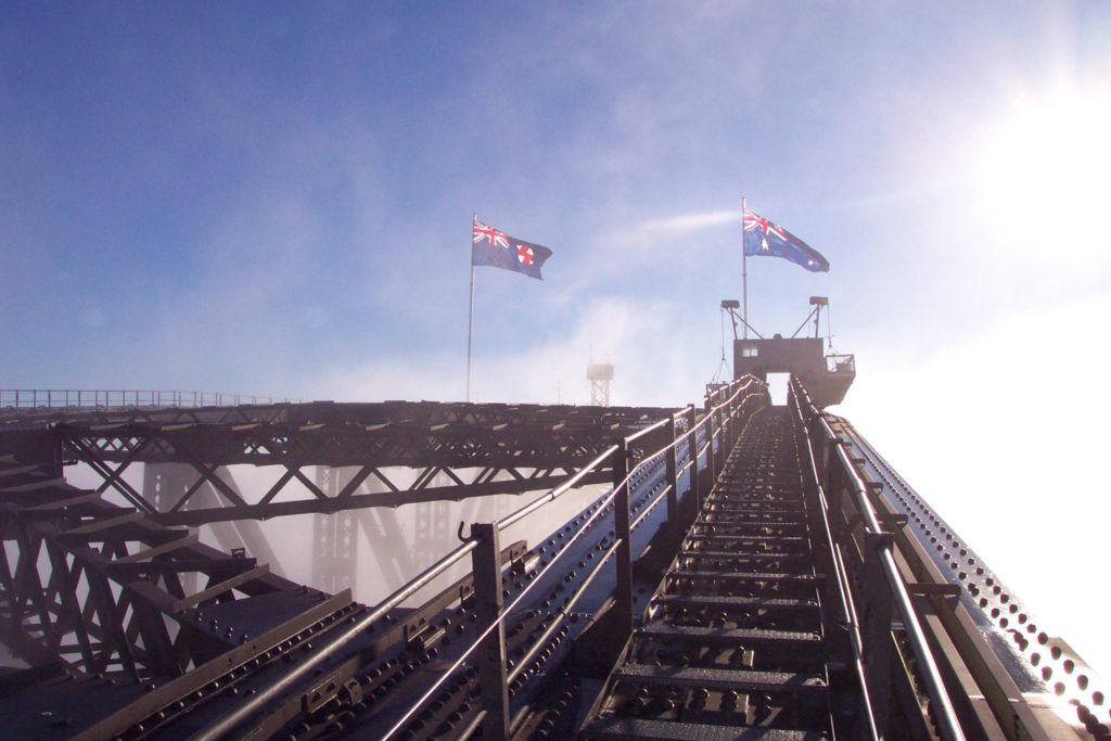 BridgeClimb Sydney Flags Morning