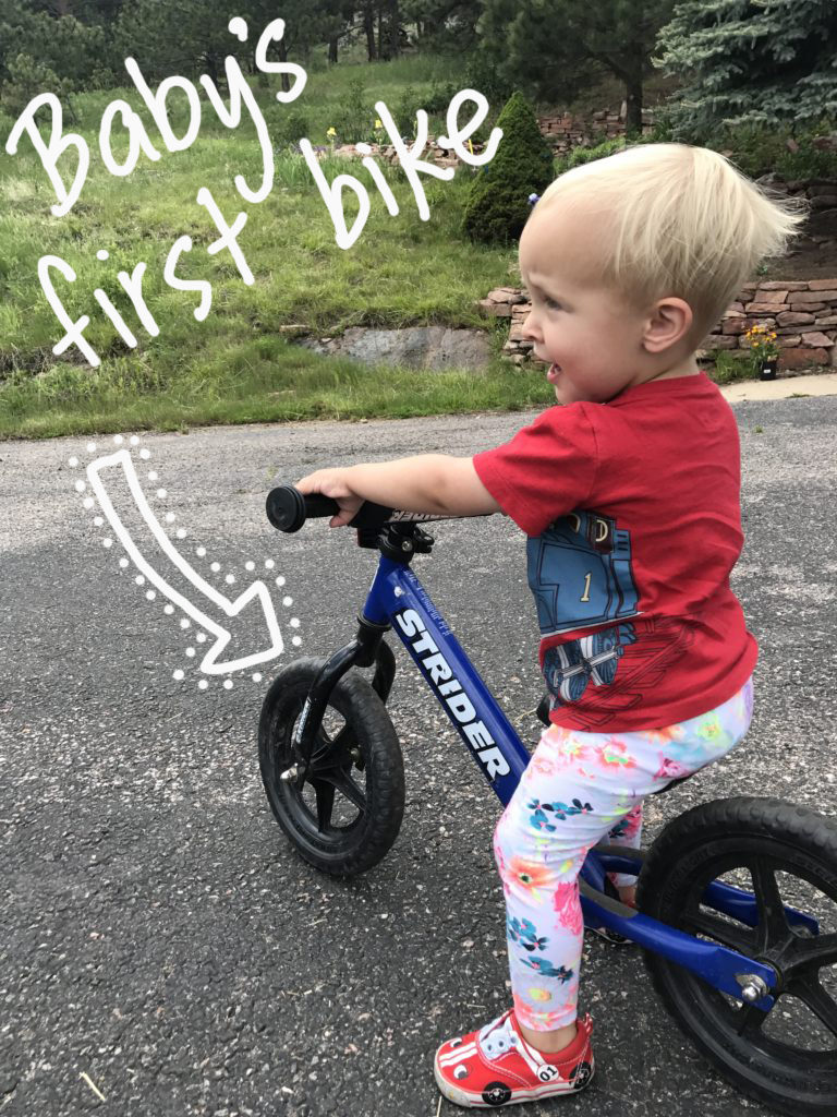 LIVE SEASONED toddlers first bike