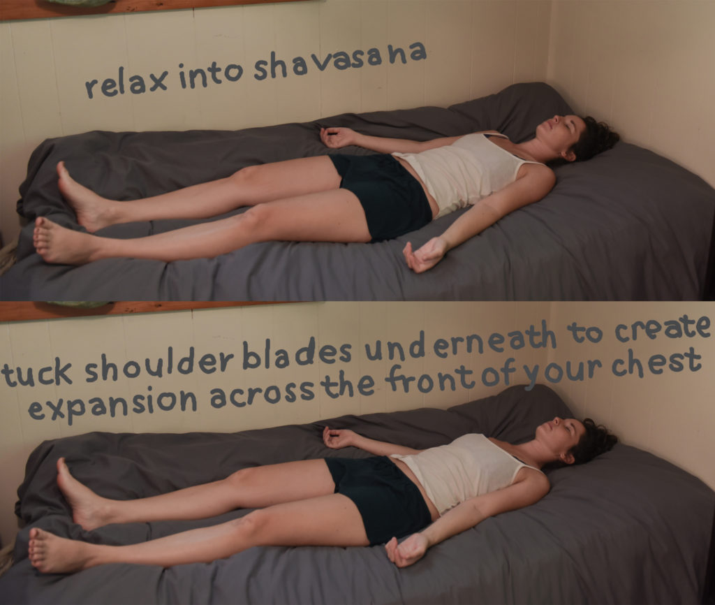 live seasoned sleep yoga savasana -1