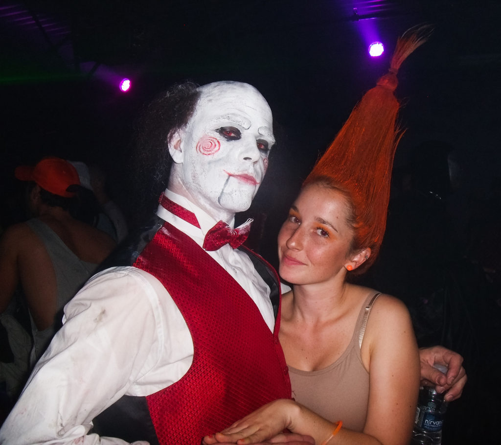 live seasoned halloween trolli doll costume-2