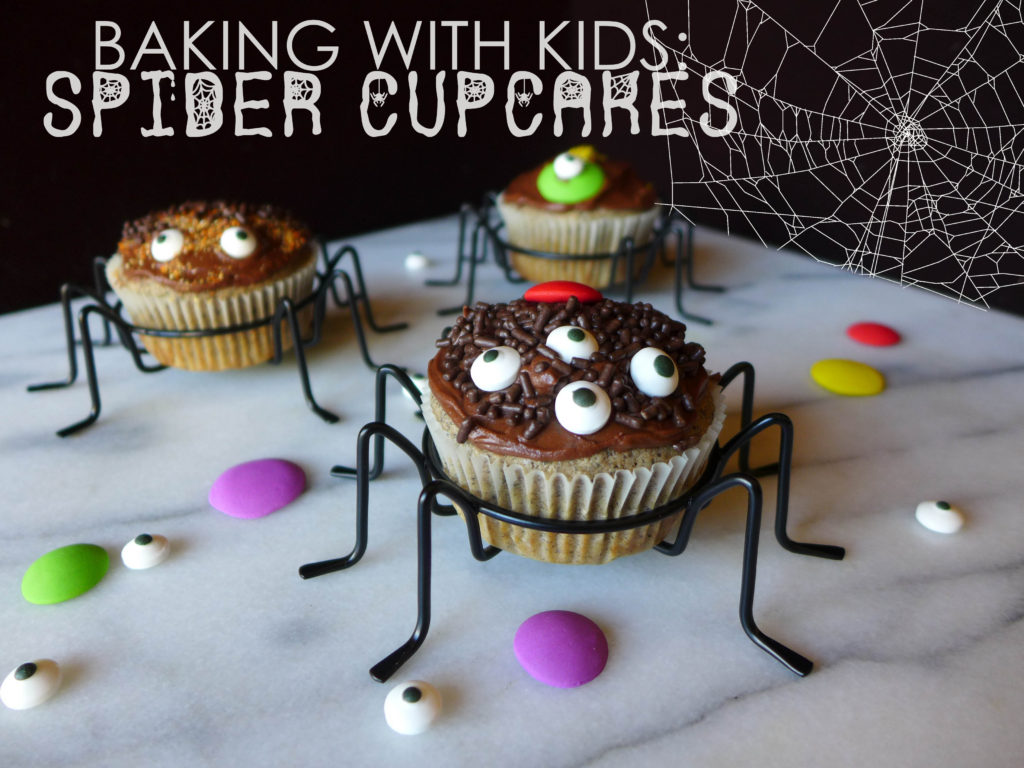 liveseasoned spider cupcakes