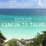 Taking the Bus from Cancun to Tulum