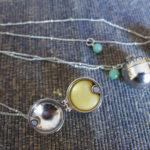 Solid Perfume Necklace