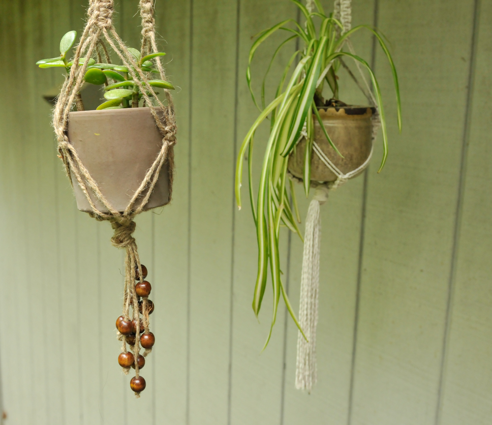 how to make a macrame plant hanger diy macrame plant hangers 2066