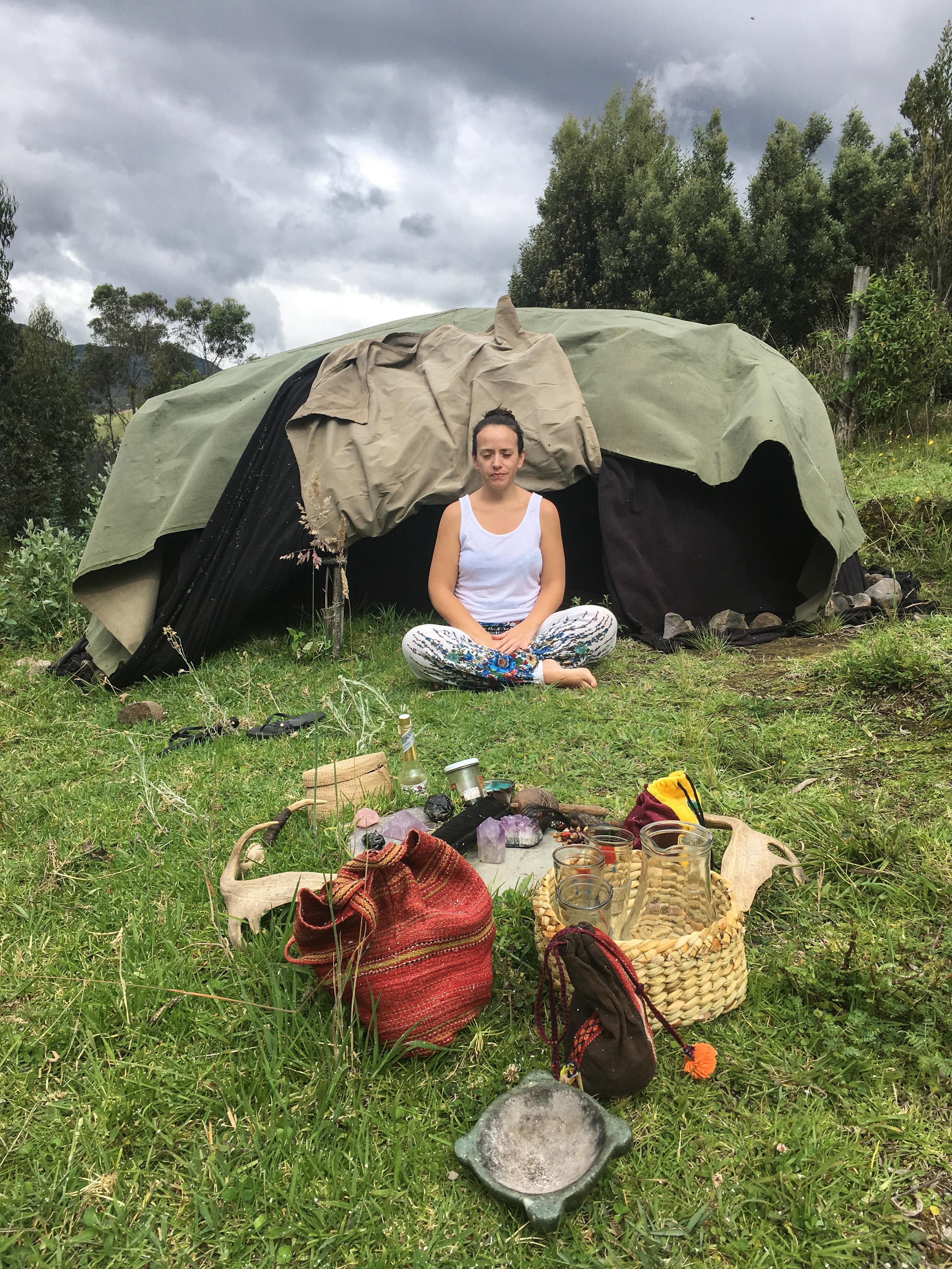 Sweat Lodge Experience In Ecuador