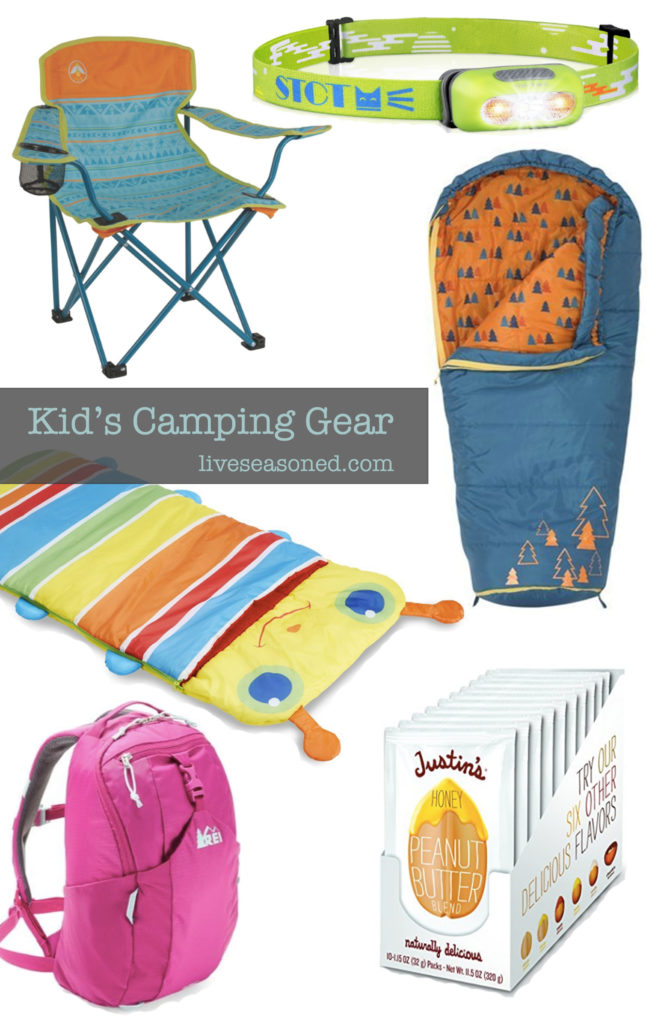 Gift Guide Kids Camping Gear